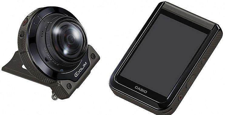 كاسيو تعلن عن كاميراتها الجديدة EX-FR200 مع عدسات قابلة للفصل