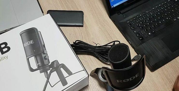 مراجعة لـ أفضل ميكروفون صوت Rode NT USB
