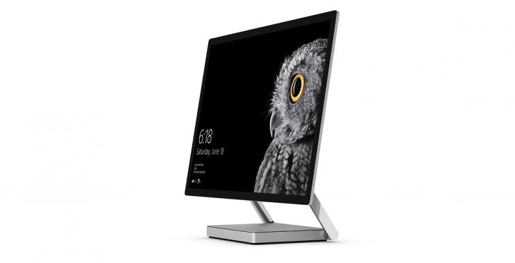 مايكروسوفت تكشف عن حاسب سيرفس استديو Surface Studio المكتبي