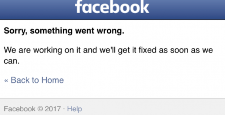 خلل في فيسبوك يضع المستخدمين في حيرة