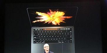 آبل تعلن عن حاسب ماك بوك برو 2016 الجديد مع Touch Bar