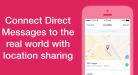 تويتر يتيح إمكانية مشاركة الموقع الجغرافي ضمن الرسائل المباشرة